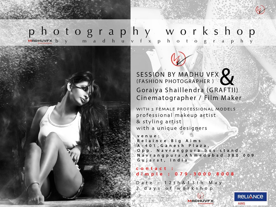 Fashion Photography Workshop in Ahmedabad