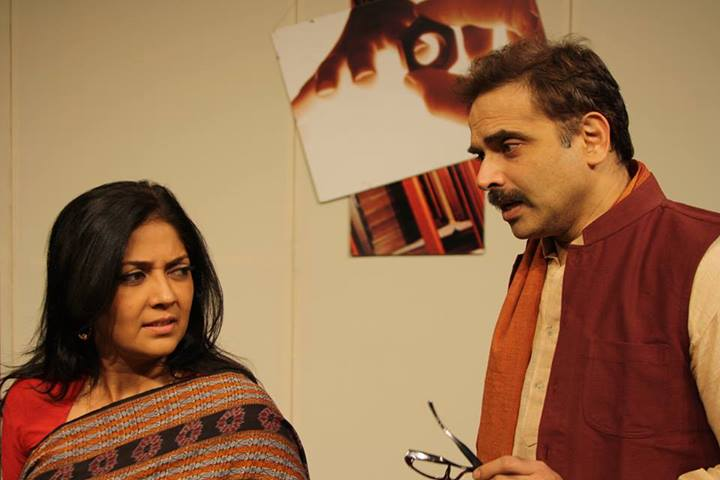 Javed Siddiqi's play Hum-Safar is about an erstwhile couple at crossroads, meeting each other over a period of several years.