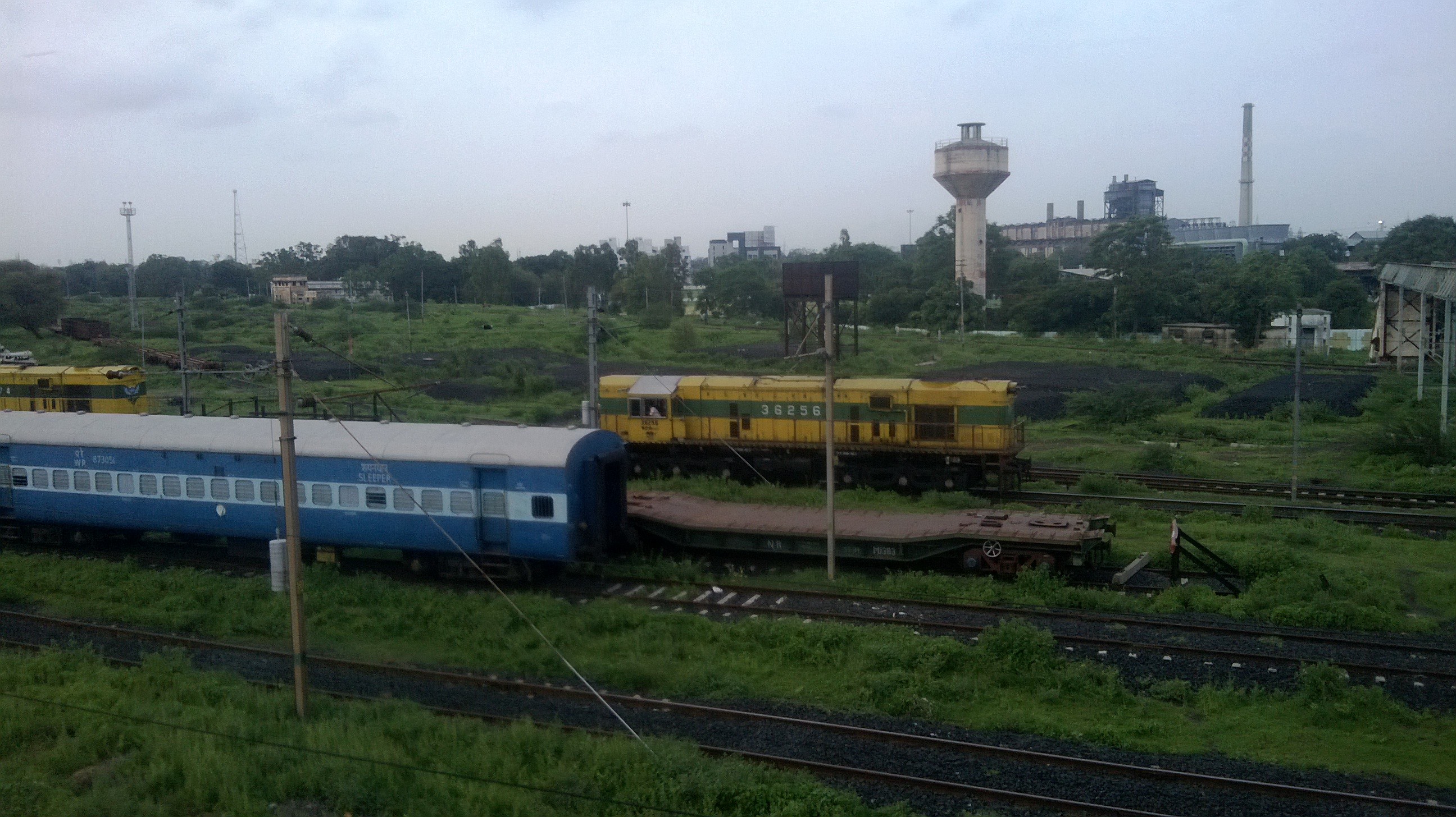 Trains at Sabarmati Junction Railway Station