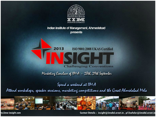 IIM A insight 2013