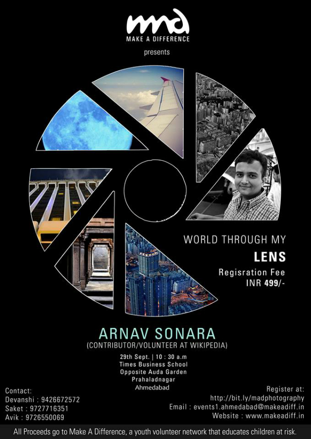 MAD Workshop: world through my lens in Ahmedabad