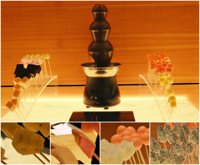 Can you resist a Chocolate Fountain?