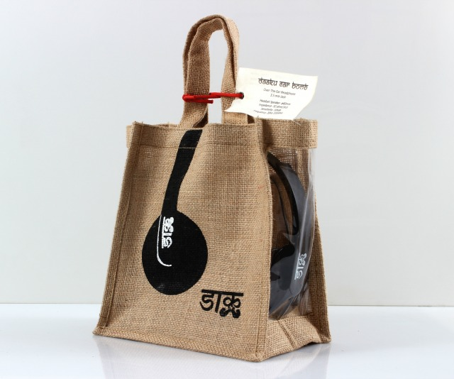 Daaku products: Unique packaging