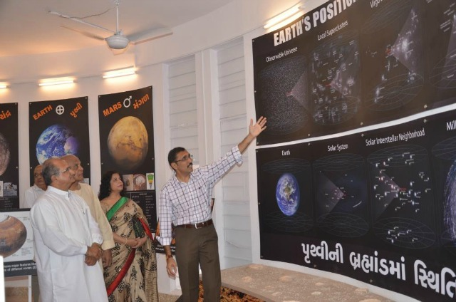 Vedhshala Ahmedabad: Figuring our space in the Universe