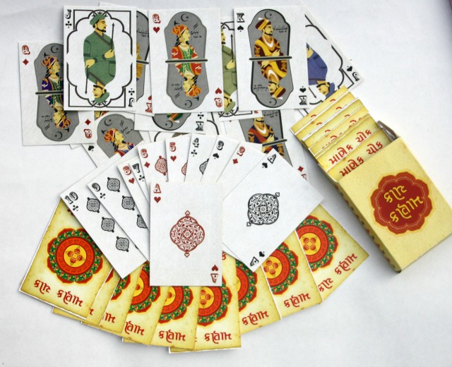 Ahmedabad Souvenirs: Manek Chowk playing cards