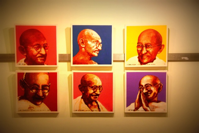 Rethinking Swadeshi by Sajal Sarkar at Marvel Art Gallery