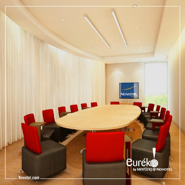 Novotel Ahmedabad: Eureka  meeting room