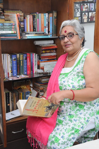 Ahmedabad based author Kusum Choppra