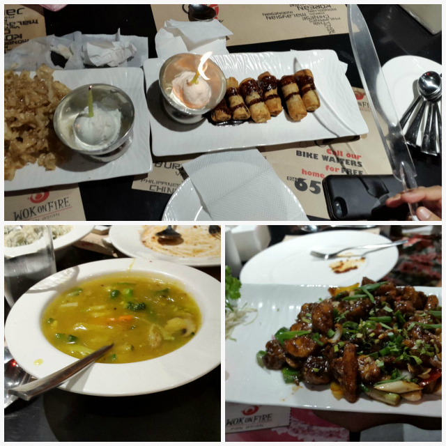 Wok on Fire Ahmedabad serves pure vegetarian menu from soup to dessert